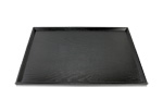 Wooden tray - black 44 x 32 cm