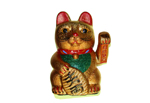 Fortune Cat Gold 17 cm