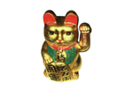 Fortune Cat Gold 40 cm